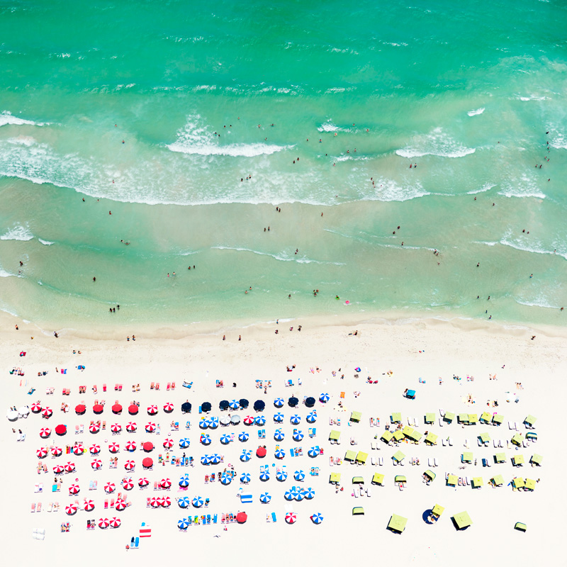 Turquoise Antoine Rose Aerial Beach Photography